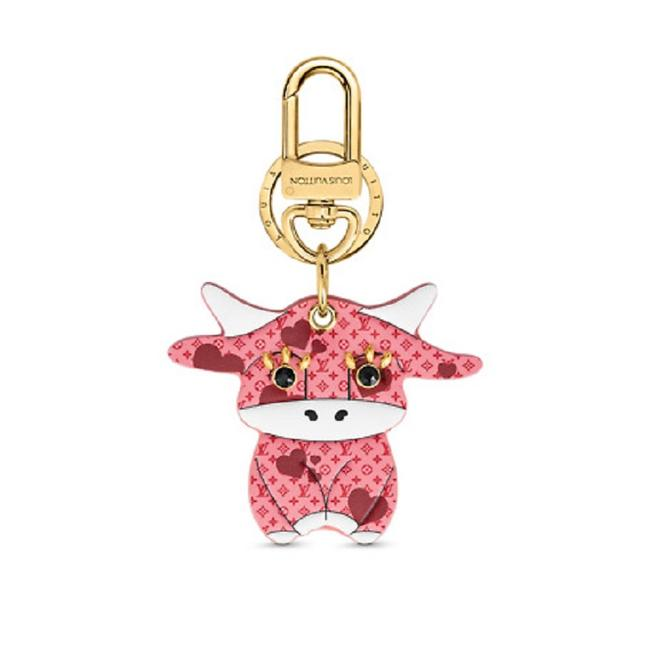 Item - Pink Lv Rodeo Bag Charm and Key Holder M80243