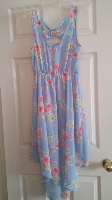 Candie's short dress Light Blue on Tradesy