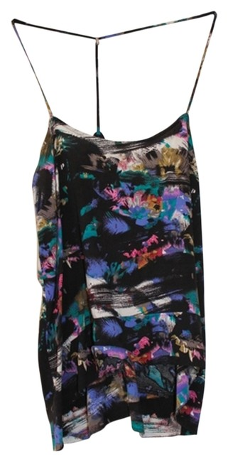 Silence + Noise + Urban Oufitters Printed Tank Top Multicolored