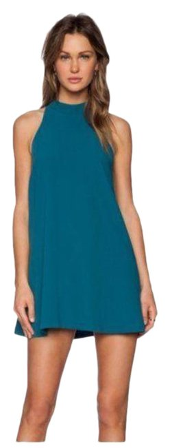 Item - Green Teal A-line Cocktail Dress Size 8 (M)