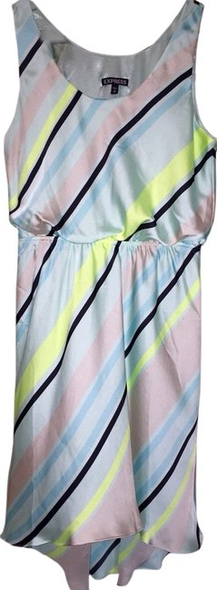 Preload https://item3.tradesy.com/images/express-pastel-stripes-high-low-cocktail-dress-size-8-m-2966677-0-0.jpg?width=400&height=650