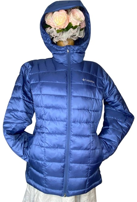 Item - Blue Med Pacific Post Thermal Coil Puffer Activewear Outerwear Size 8 (M)