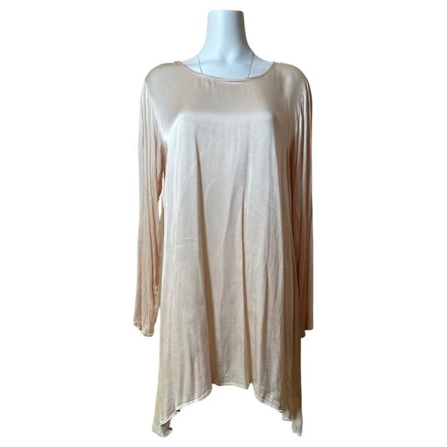 Item - Pale Pink/ Pearl In England Mid-length Short Casual Dress Size 8 (M)