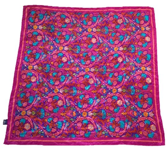 Other Beautiful 100% Silk Vintage Floral Scarf