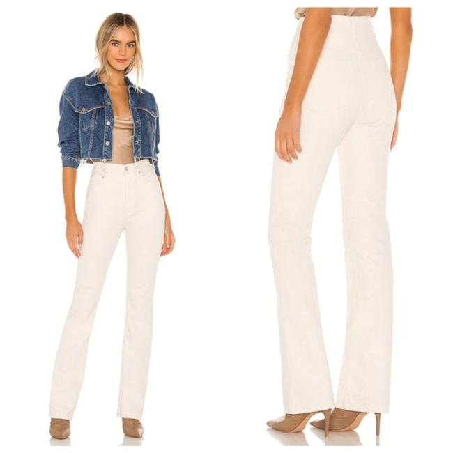 Item - Ivory Vintage High Rise In Paper Flare Leg Jeans Size 31 (6, M)