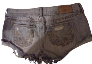 Hollister Bundle Cut Off Shorts acid washed