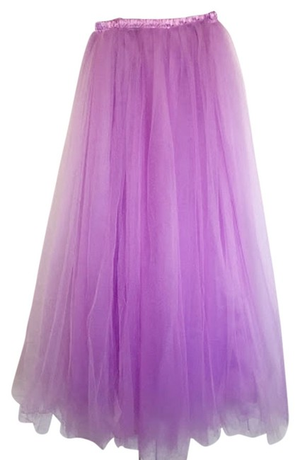 Other Orchid Tulle Maxi Skirt purple