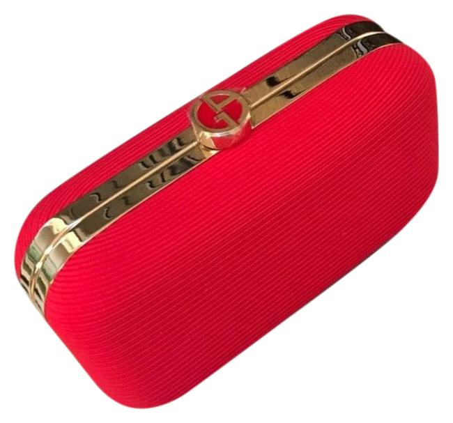 Item - Red Polyester Clutch