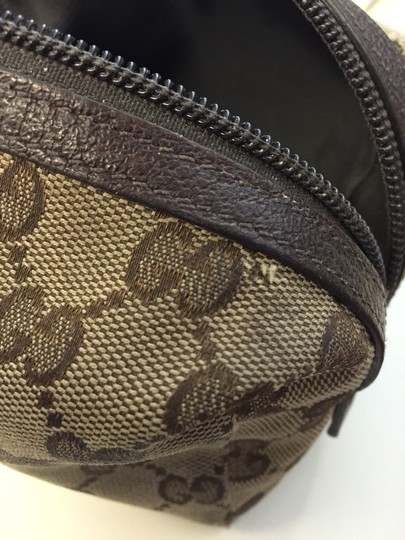 Gucci Brown Travel Bag Image 1
