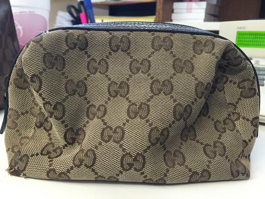 Gucci Brown Travel Bag Image 5