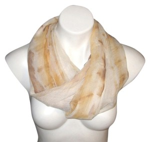 Cahsmera Co. Light Weight Sheer Brown Beige Yellow Solid #113 Pashmina Shawl Scarf Stole Cashmere/Silk Risdarling
