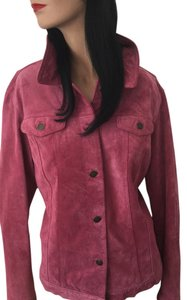 For Joseph Rose Pink Leather Jacket
