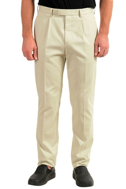 """Item - Beige Men's """"T-borden"""" Tailored Casual Us 36r It 52 Pants Size OS (one size)"""