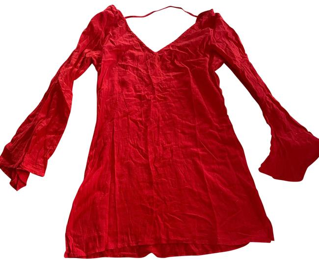 Item - Red Cover-up/Sarong Size 8 (M)