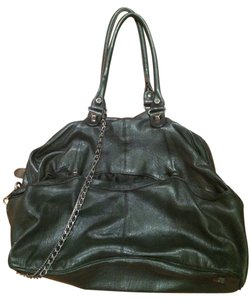 A.B.S. by Allen Schwartz Punk Rock Studded Leather Hobo Bag