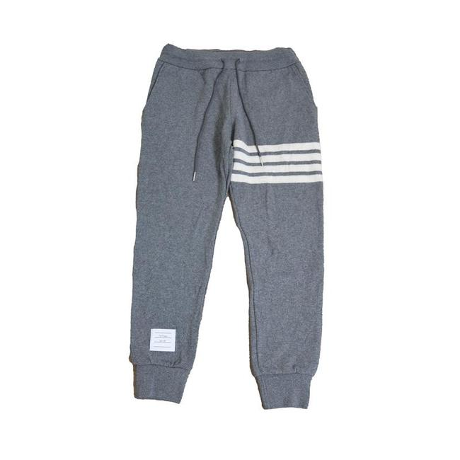 Item - Mid Grey W Sweat In Double Face Cashmare W/Engineered 4 Bar Pants Size 6 (S, 28)