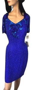 Morgan Taylor Evening Gown Violet Gown Evening Holiday Special Designer Dress