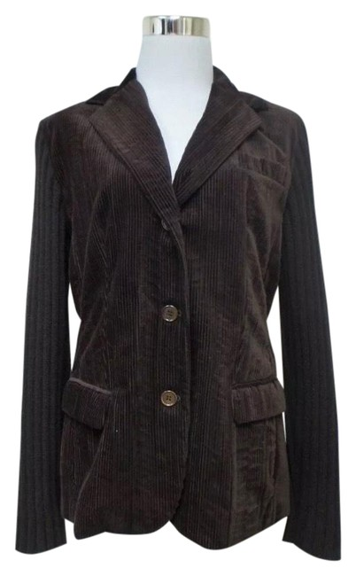Item - Brown This Is Casual and Comfortable Long Sleeves Jacket. S Blazer Size 6 (S)