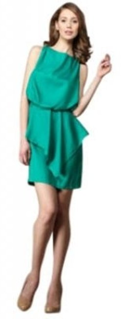 Preload https://item1.tradesy.com/images/ali-ro-green-peplum-blouson-above-knee-cocktail-dress-size-2-xs-29685-0-0.jpg?width=400&height=650
