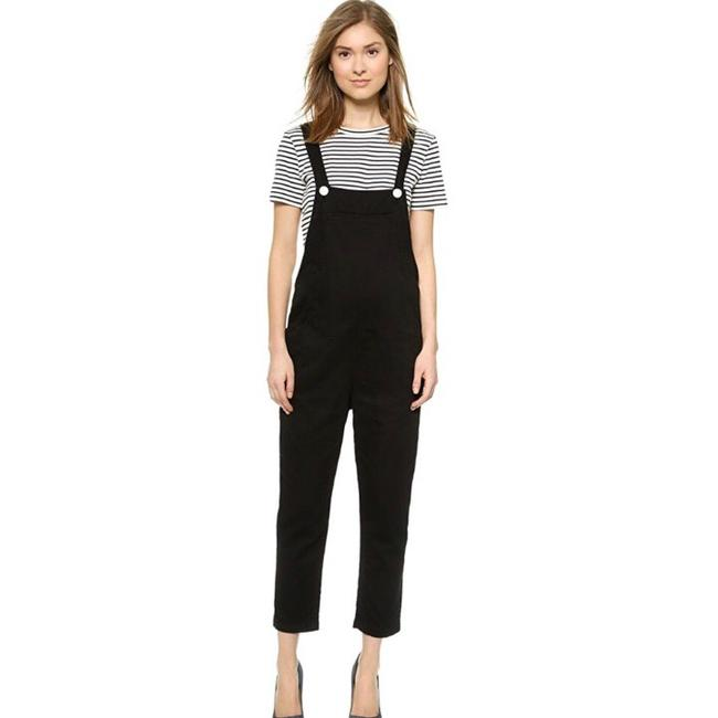 Item - Relaxed Cotton Overall Romper/Jumpsuit