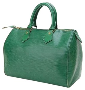 Louis Vuitton Hand Satchel in Greens