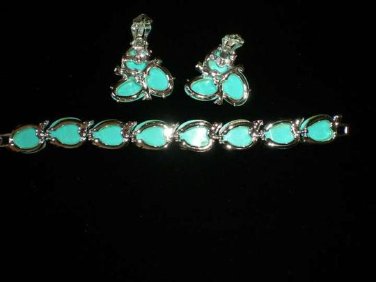 Other VINTAGE 1950'S BRACELET/EARRING SET