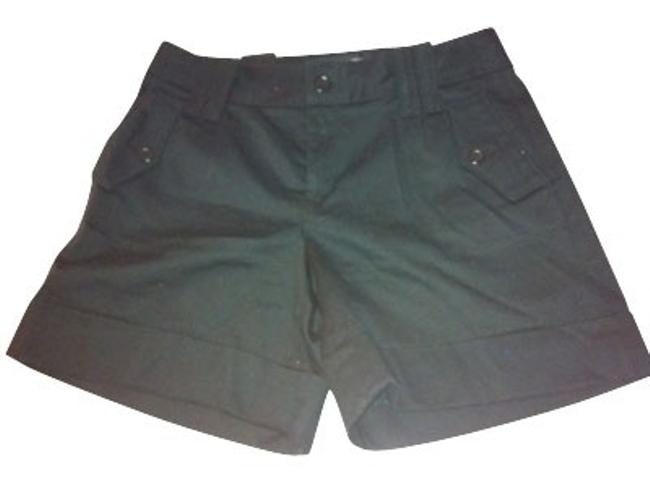Banana Republic Cuffed Shorts Black