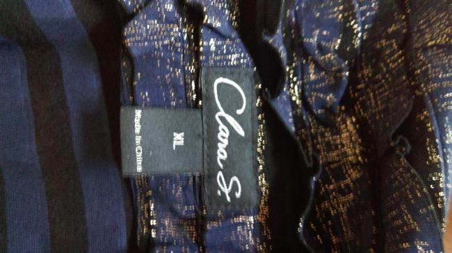 Clara Sunwoo Metallic Blue Jacket
