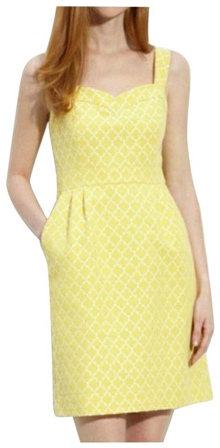 Item - Yellow Hilary Mid-length Formal Dress Size 4 (S)