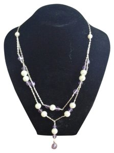 Other Chic Pearl Necklace - Handmade Art