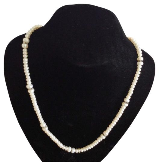 Other Pearl Necklace and Sterling Beads