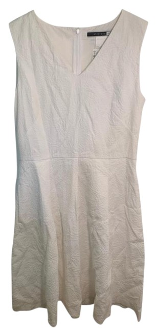 Item - White Code Sleeveless Fit & Flare Mid-length Short Casual Dress Size 8 (M)