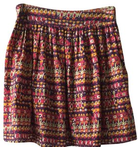 Anthropologie Skirt Pink/purple