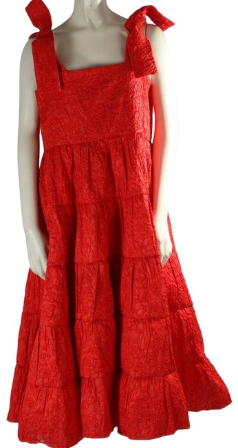 Item - Red XL Sleeveless Likely Rose Floral Cocktail Dress Size 16 (XL, Plus 0x)