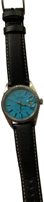 Item - Steel Blue Face Men's Oyster Perpetual Datejust Watch