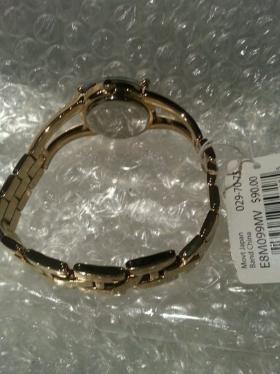 Marc Ecko RHINO by MARC ECKO SPECIAL EDITION CRYSTAL BLING GOLD TONE FASHION BRACELET WATCH E8M099MV NEW WITH TAGS