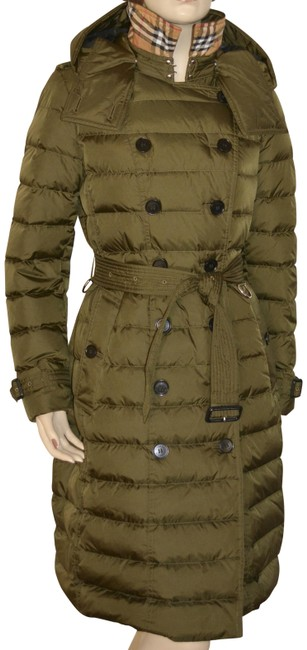 Item - Olive Double Breasted Darmelton Down Puffer Coat Size 4 (S)