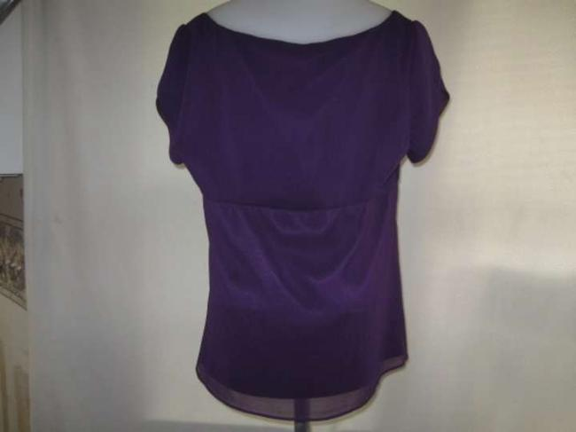 Tahari Top Purple