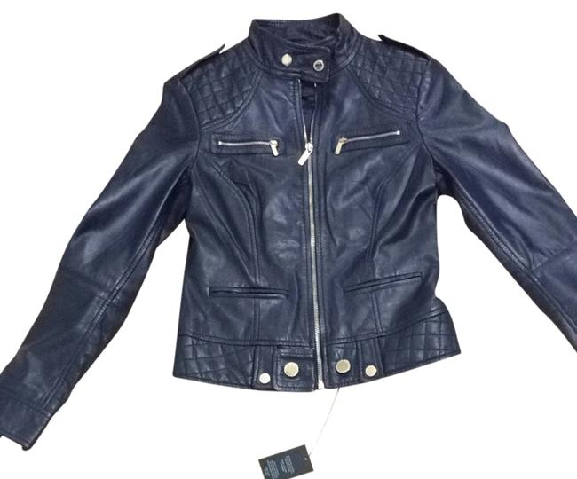 Preload https://item3.tradesy.com/images/guess-navy-leather-size-4-s-2971072-0-0.jpg?width=400&height=650