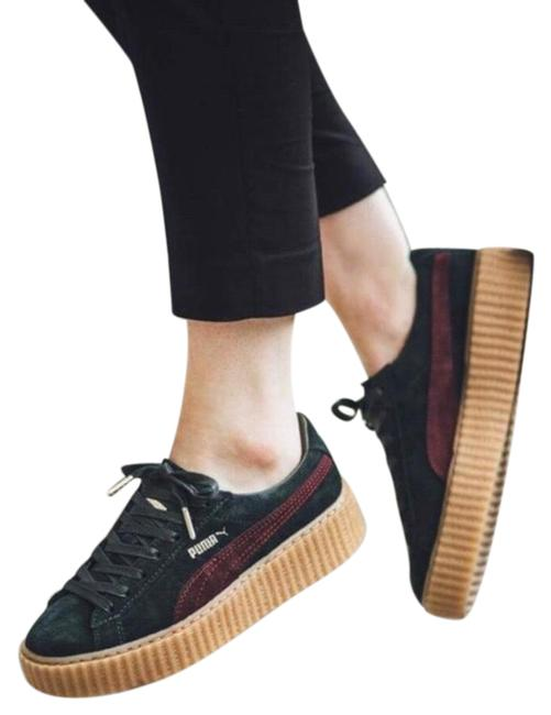 Item - Green Creepers Suede Sneakers Size US 8 Regular (M, B)