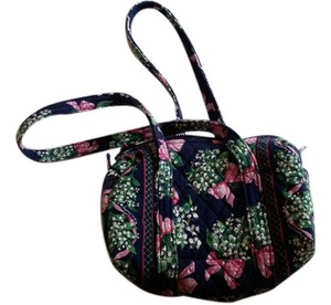 Vera Bradley New Hope Small Duffel Bag Navy Blue Travel Bag