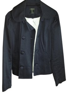 Emphasis Lined Navy Blue Jacket