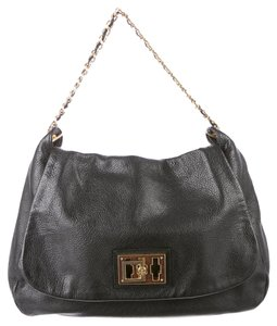 Tory Burch Pebbled Leather Shoulder Bag