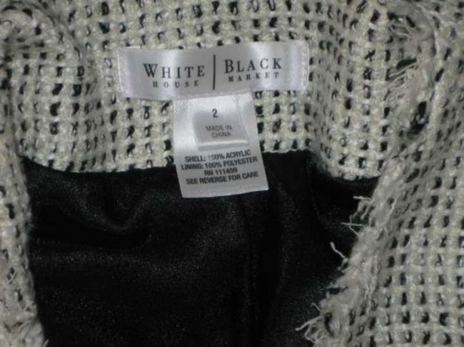 White House | Black Market Black & White Jacket