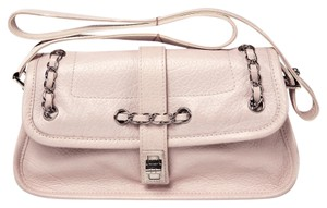 Chanel Pink Chain Mademoiselle Leather Shoulder Bag