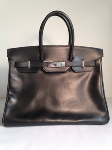 Hermes Birkin 35cm Tote in Black