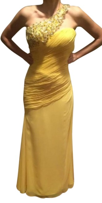 Preload https://item5.tradesy.com/images/tony-bowls-yellow-canary-jeweled-long-formal-dress-size-2-xs-2971834-0-0.jpg?width=400&height=650