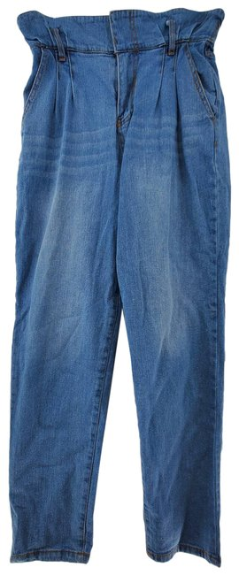 Item - Blue Denim Collection High Rise Paper Skinny Jeans Size 27 (4, S)