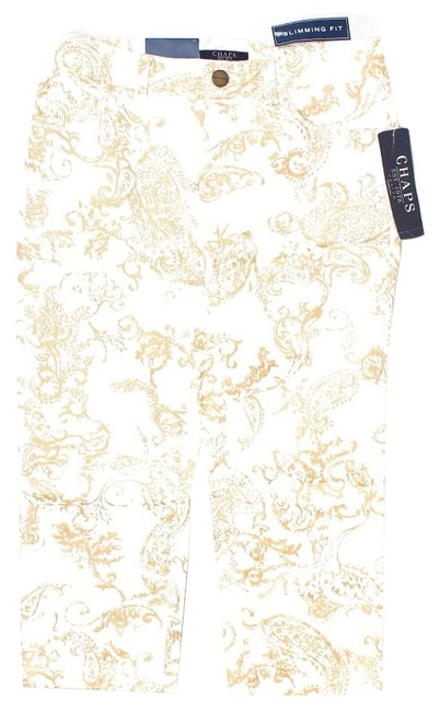 Preload https://item5.tradesy.com/images/chaps-white-and-gold-paisley-capris-size-2-xs-26-2972224-0-0.jpg?width=400&height=650