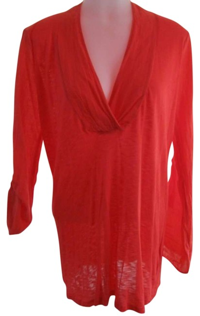 Preload https://item3.tradesy.com/images/splendid-red-blouse-size-6-s-297227-0-0.jpg?width=400&height=650